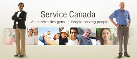 Go to the Service Canada Website